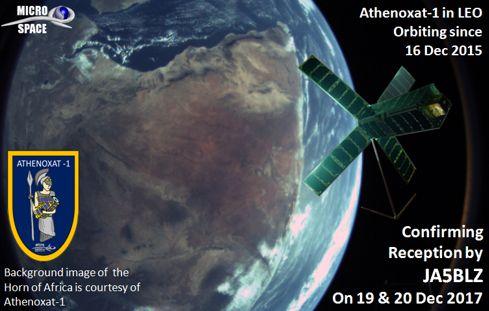 Athenoxat-1 for Radio Amateurs